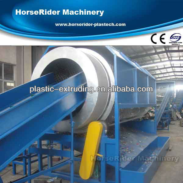 Waste plastic washing and recycling machine/plastic recycling machine for PET water bottle/PET bottle washing line