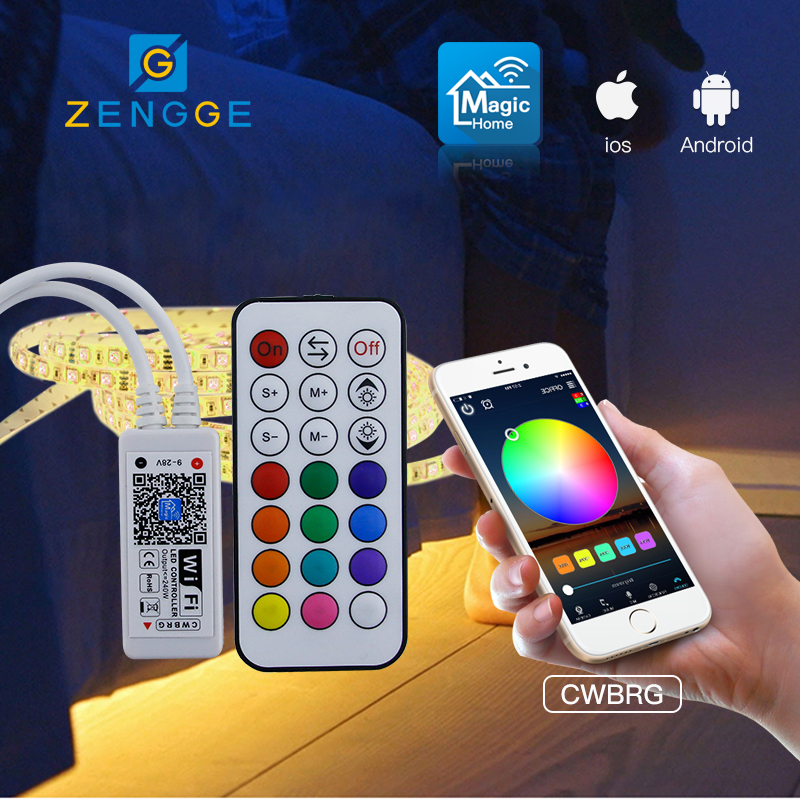 new products 2018 hot,Free APP WiFi dimming and color temperature controller for large led strip light