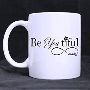Johnson TT Custom Be You Tiful Beauty Infinite Loop Symbol Style 11 Ouncesbest White Mug