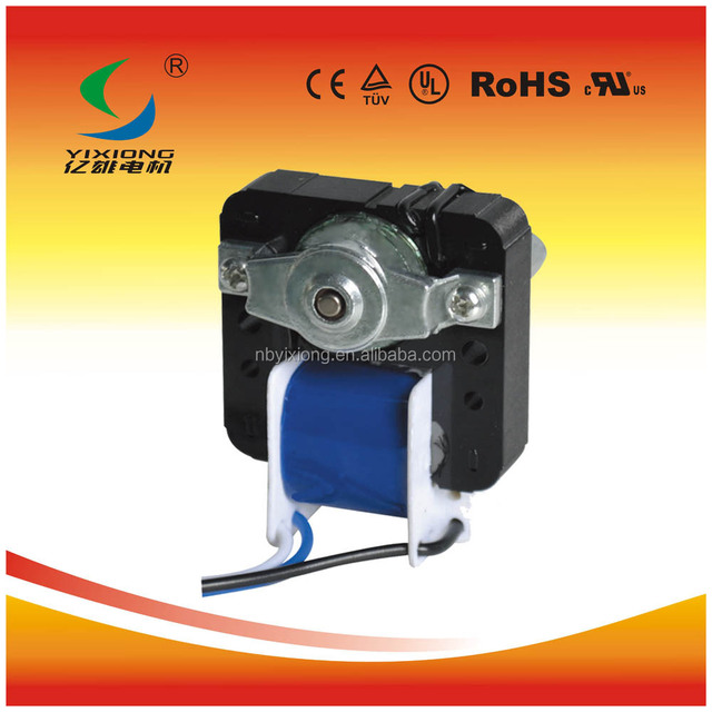 series ac shaded pole motor