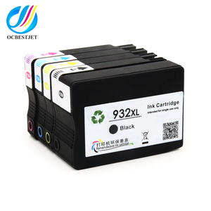 OCBESTJET for hp932 933 932xl 933xl officejet ink cartridges compatible for HP6600 printer ink cartridge
