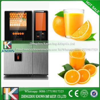 Fruit Juice Machine Orange Juice Vending Machine Fresh Auto Orange