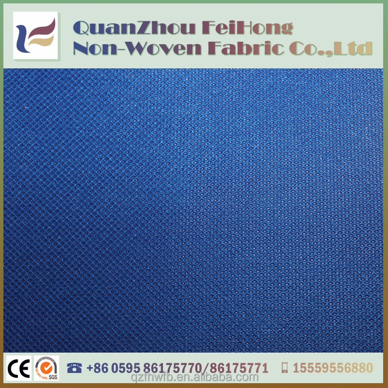 new arrival blue waterproof 80g pp non woven bag making material