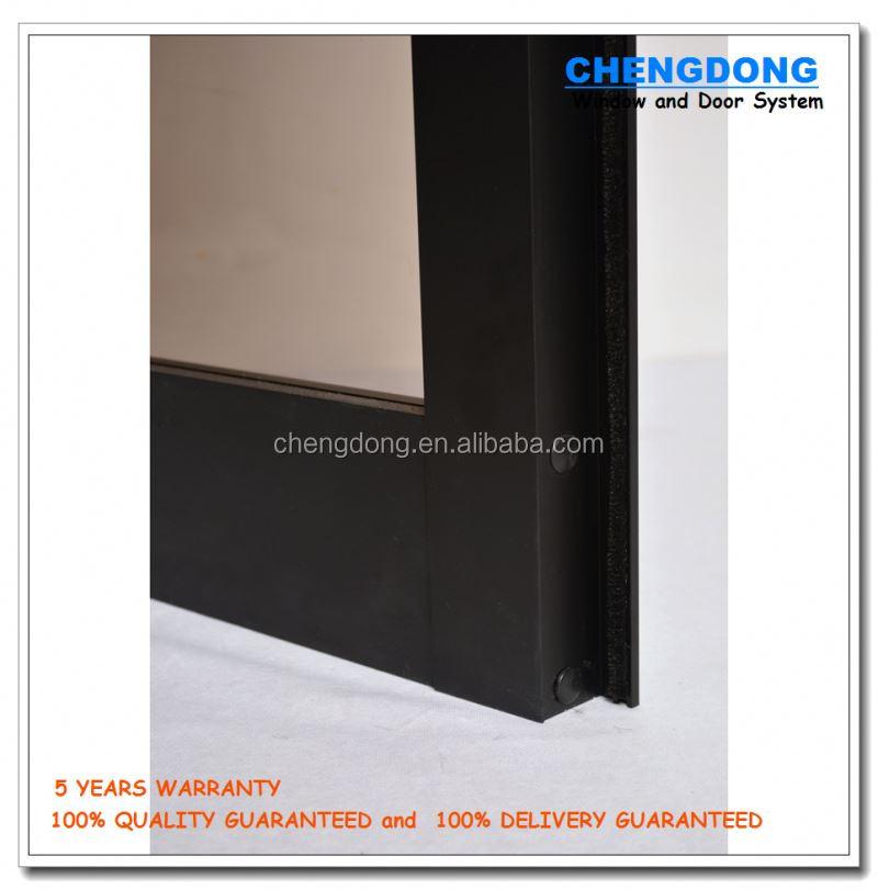 commercial double cadre en aluminium verre portes porte de s curit en acier de haute qualit. Black Bedroom Furniture Sets. Home Design Ideas