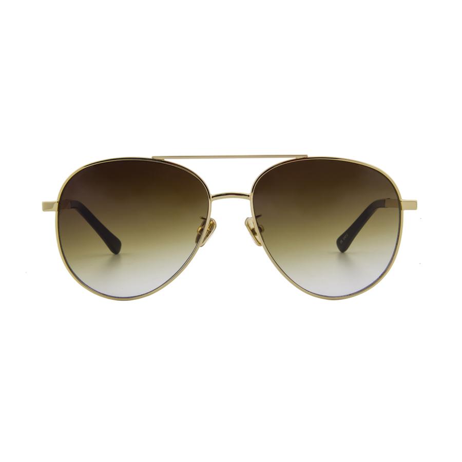 Best seller Stylish Design 두 번 교 빈티지 프레임 와 컬러 풀 한 Mirror lens 새 선글라스