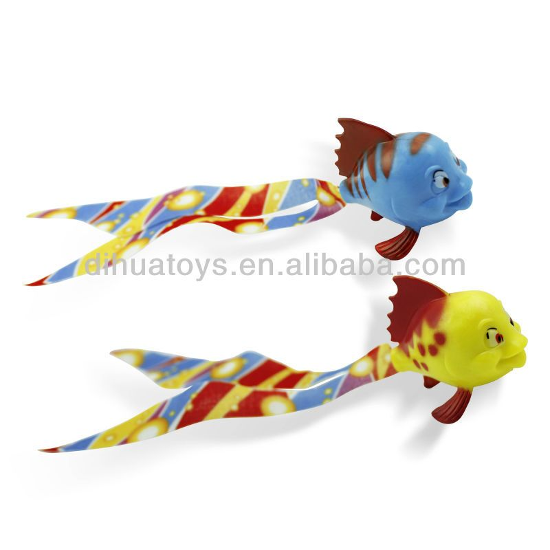 Novel Children Dive Toys Plastic Swimming Fish Toy