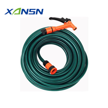 Raw material 2 layers latex expandable hose 12mm x 30m hose and fittings set with high quality