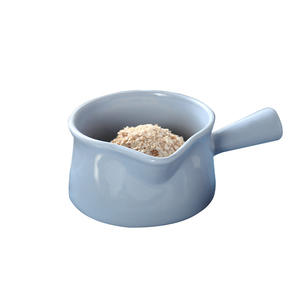 Macaron Ceramic Milk Pot with Handle Porcelain Breakfast Bowl Dessert bowl