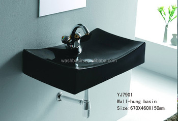 7901b keramische vierkante porseleinen zwarte kleur boutique