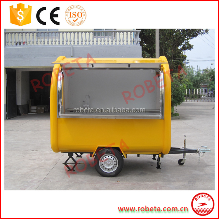 High quality snack vans/food catering trailer/food car