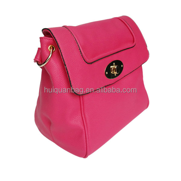 Wholesale lady PU women Leather handbag / Fashion ladies bag / women shoulder bag in China manufacturer