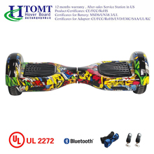 "High quality 6.5"" self balancing electric hoverboard with bluetooth speaker"