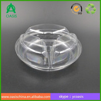Accept Custom Order and Food Industrial Use Plastic Fruit Salad Container/Clear Fruit Tray