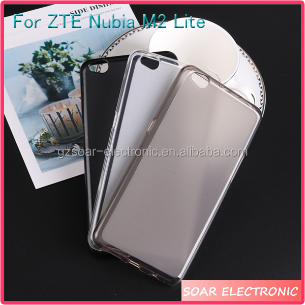 [Soar]Ultra Thin Frosted Pudding TPU Silicone Case For ZTE Nubia M2 Lite, Soft Back Cover Case For ZTE Nubia M2 Lite