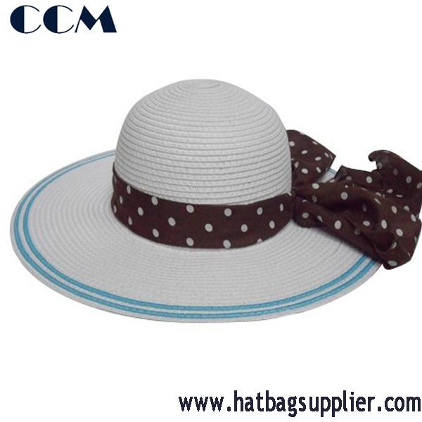 واسعة بريم الصيف قبعة القشبنات أحد القبعات قبعات القش معرف المنتج