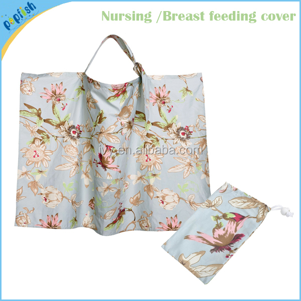 China Supplier Cotton Nipple Cover Wide Breast Feeding Baby Nursing Cover Wholesale