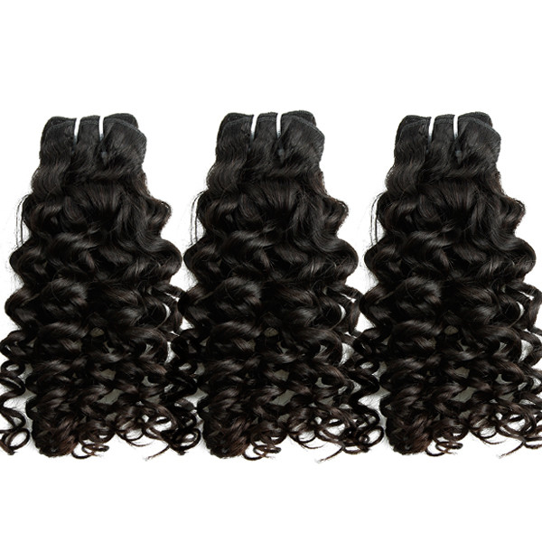 Human hair extension jerry curl 100% indian malaysian weaves