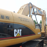 USED construction Caterpillar 320D crawler excavator machine CAT 320B 320C 330C used excavator