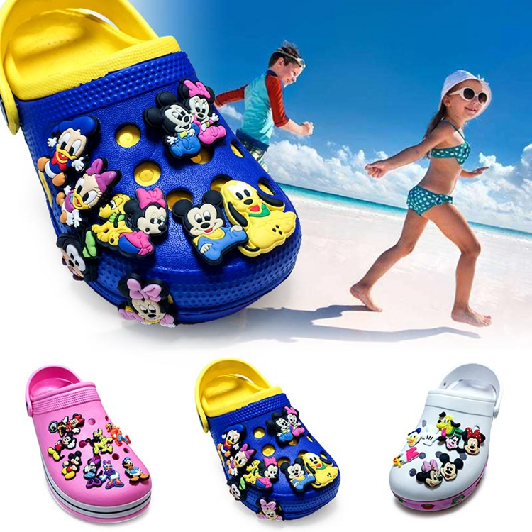 2000 assorted designs available promotional shoes decoration charms soft PVC shoe charms for crocs