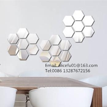 Bulk Wholesale Home Decorative Mosaic Mirror Tiles Self Adhesive