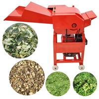 Heli Farm Machinery Animal Feed Cow Straw Hay Forage Chopper Small Mini Chaff Cutter Machine on sale