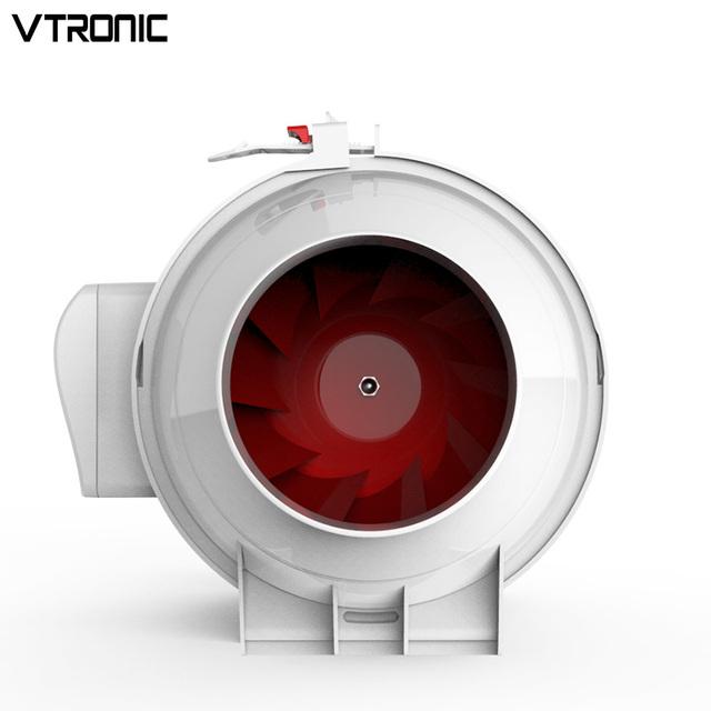 8 Inch Stille Split Pijp Ventilatie Keuken Duct Fan Buy Vierkante Duct Fan,Rotor Stator Plafond Ventilator,Flexibele Duct Fan Product on