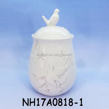 Set Di 3 In Ceramica Pigeon Design Cucina Stoccaggio Barattolo Ermetico  Contenitore Bianco - Buy Set Di 3 In Ceramica Pigeon Design Cucina  Stoccaggio ...