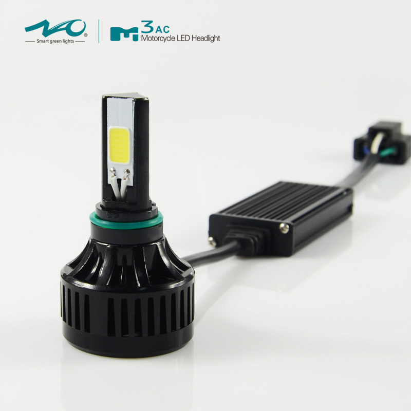 new auto motorcycle parts 40 W 4000LM COB H4 M3AC motorcycle car led headlight kit , led motorcycle headlight