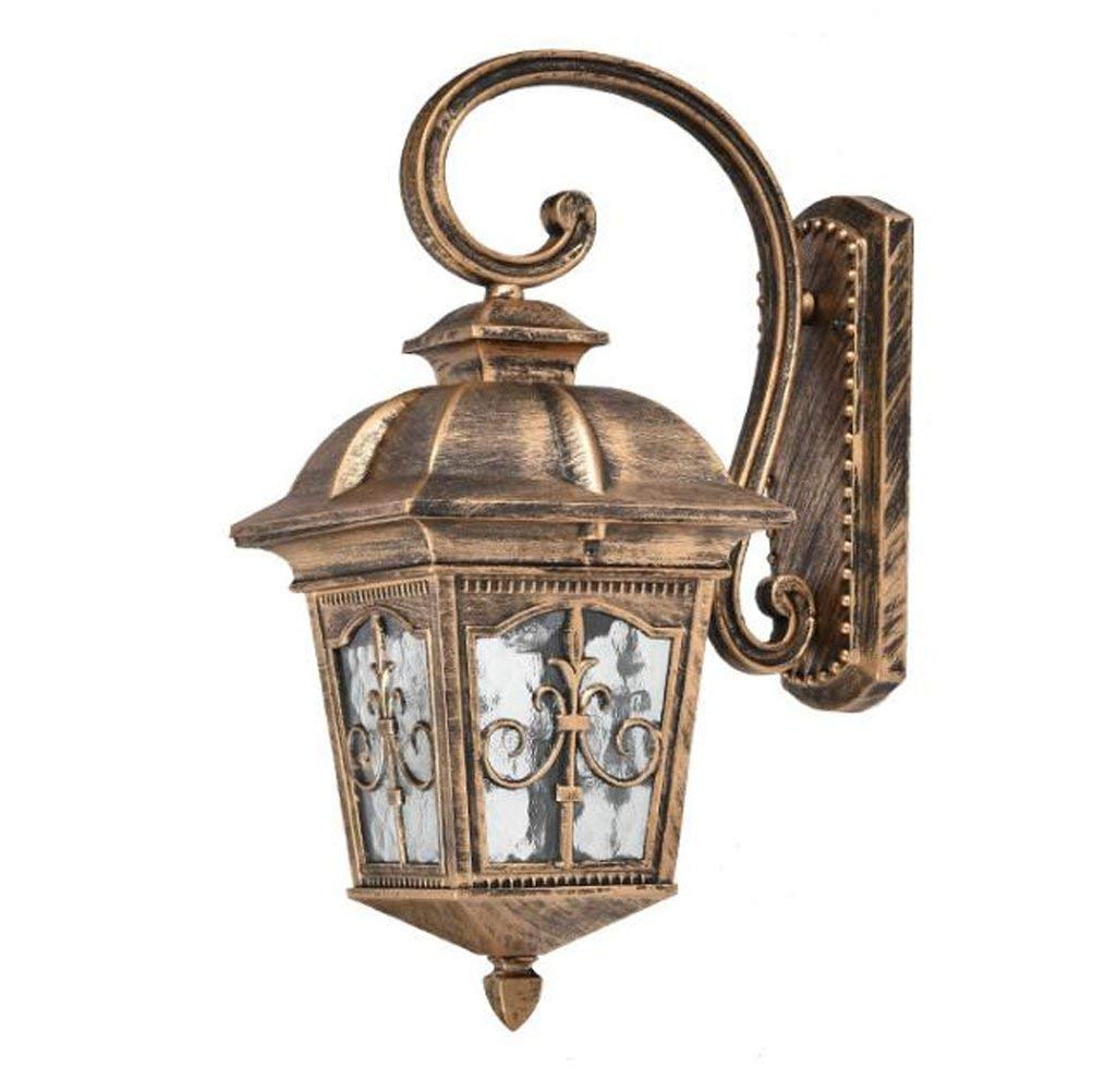 copper outdoor light fixtures spray paint ywnc antique wall lamp lighting outdoor led lanterns anticorrosion durable waterproof patio villa cheap copper exterior light fixtures find