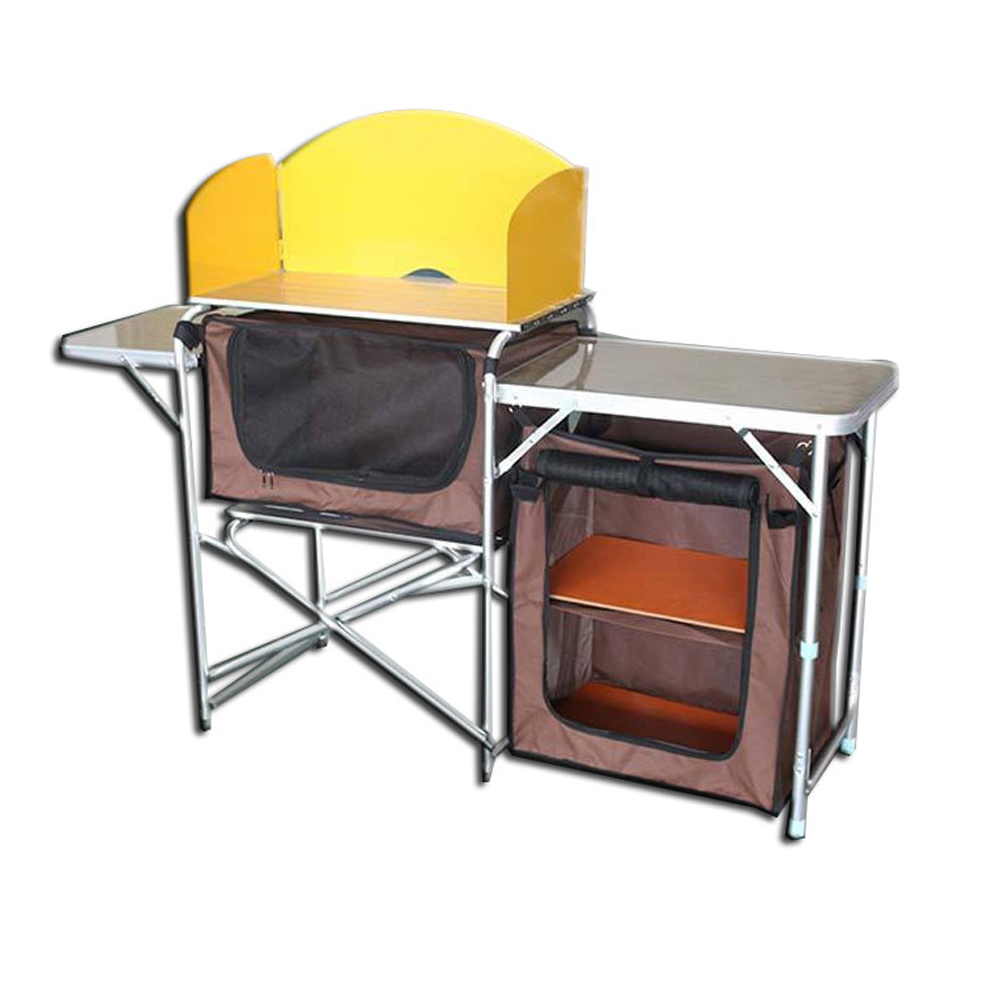 Portable Folding Camping Kitchen <strong>Table</strong> for Outdoor Cooking