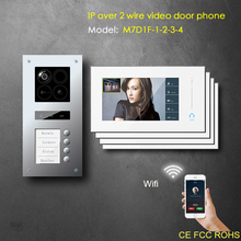 IP wifi intercom APP function apartment building intercom system
