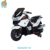 WDHZB118 Classic Design Motorcycle Led Light, Rechargeable Battery Powered Scooter For Kids To Play Two Speeds Mp3 Port