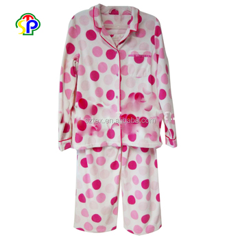 7b9ee74b0 High Quality Micro Polar Fleece Pajamas Sleepwear Women Sets - Buy ...
