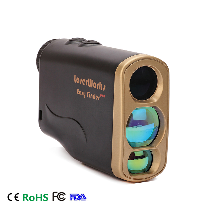 Hot Sales Golf Portable Mini Laser Rangefinder 600M 6X Magnification with Jolt Feature