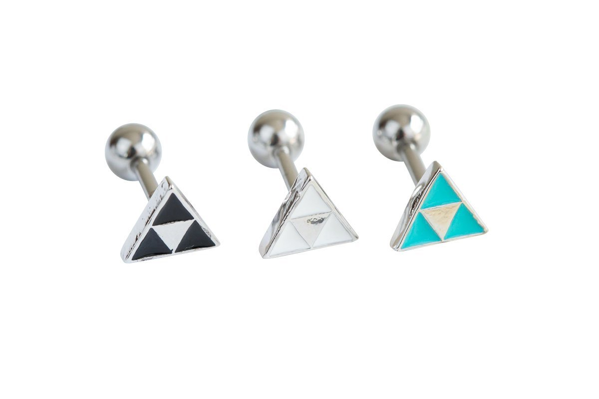 Triangle piercing-AFC, triangle jewelry, triangle piercing, triangle shape jewelry, triangle shape piercing, triangle jewellry, geometric jewelry,Barbells, Body Jewelry, body piercing, curved bar