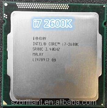 Intel Core i7-2600K SR00C CPU 5 GT//s 3.4 GHz LGA 1155 100/% Work BX80623I72600K