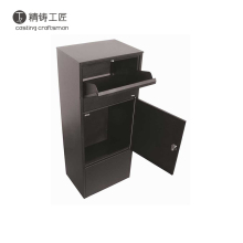 Customized wall mounted mailbox, standing parcel box