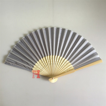 China Factory Wholesale Hand Fan Wedding Favors In Different Colors