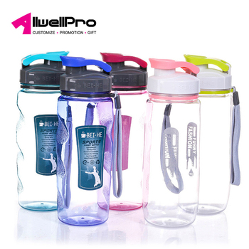 Large Capacity Drinking Cup Children Water Bottle Easy to take Plastic Cup