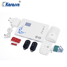 Wireless LCD Display Touch Keypad GSM Alarm Security System With App