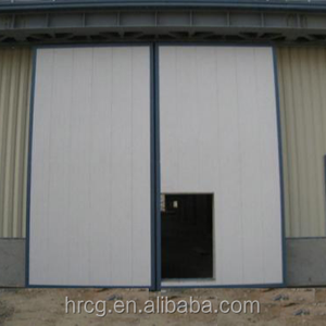 Steel Automatic Sliding Door for Industrial Warehouse