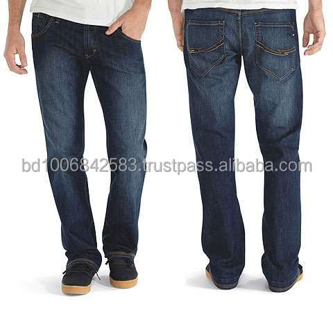 Mens Stylish Jeans Pant, Five Pocket Jeans, Washed Denim Pants