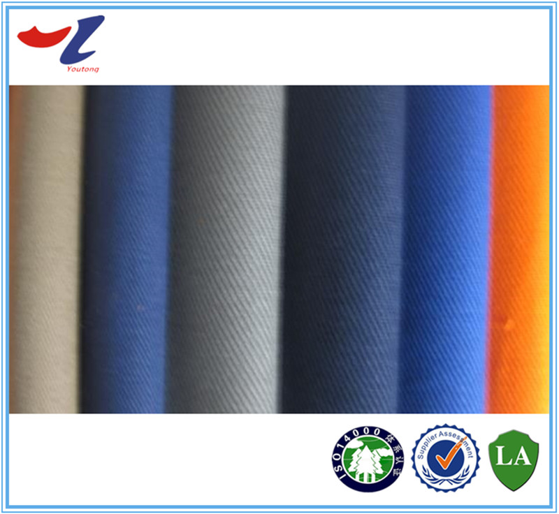 Proban twill fireproof fabric proban treated flame retardant cotton fabric