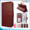 Popular crystal crazy horse grain leather flip case for k-touch touch 3w