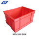 Customized Security Transport Plastic Storage Bread Crates