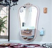 Unique design Saudi Arab vanity mirror cabinet bathroom furniture bathroom suite