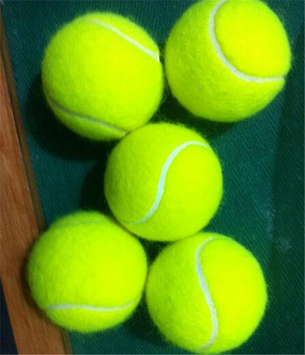 Hot Sell Professional Manufacture ITF Approved Yellow wool mini tennis balls