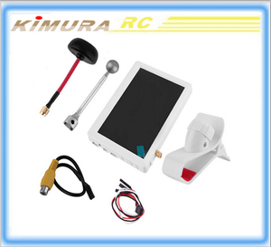 5 inch HD Bright Snow Screen FPV Display Monitor Built-in 5.8G 32CH Receiver For Sharp Vision 60 Display Monitor