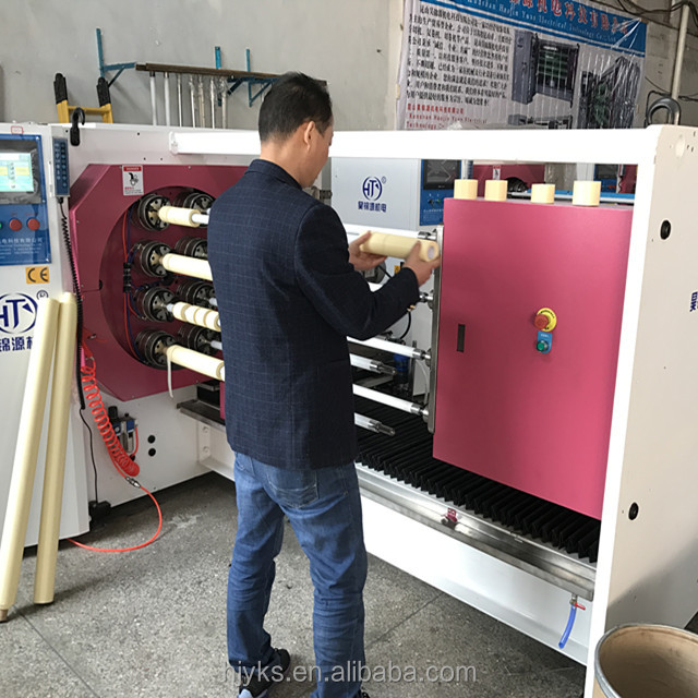 HJY-QJ08 Professional Manufacturer for BOPP adhesive tape,PVC,PET,TTR and Paper cutting Machinery