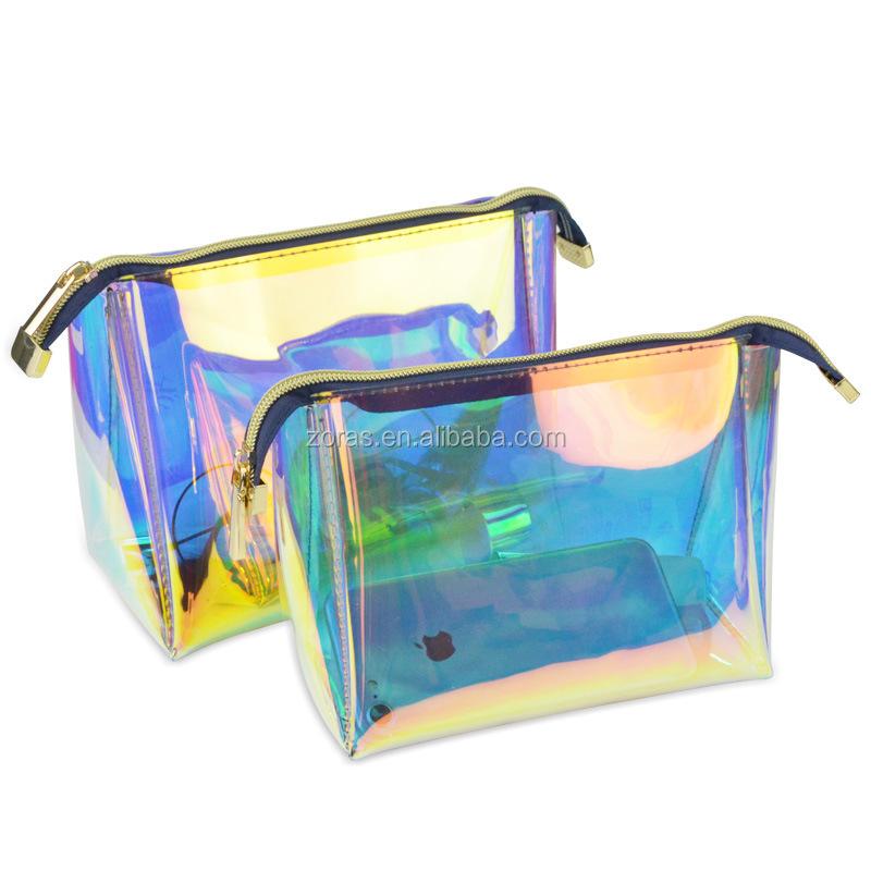 Female Fashion New Girl Holographic Laser Pvc Woman Bag